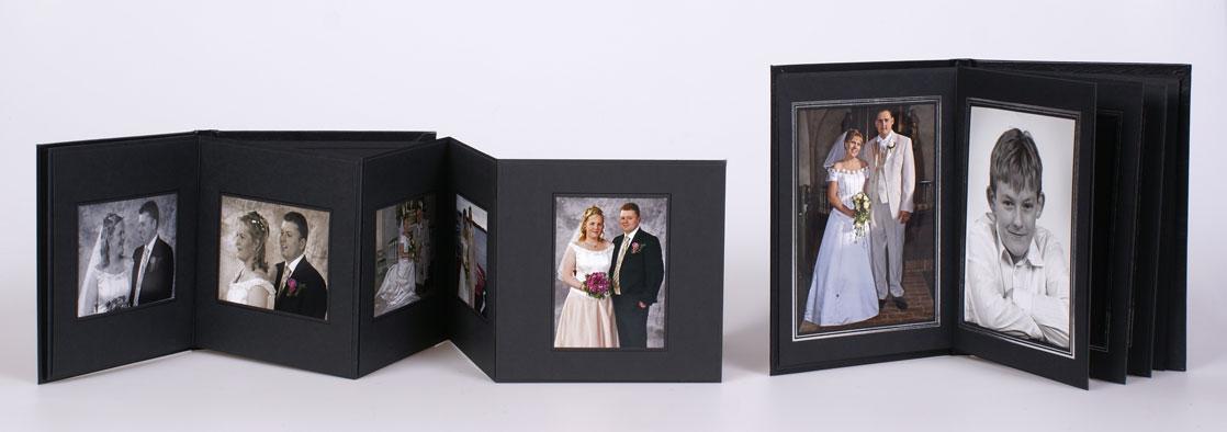 Seriealbum med 8 billeder- 9 x 12 eller 13 x 18 cm