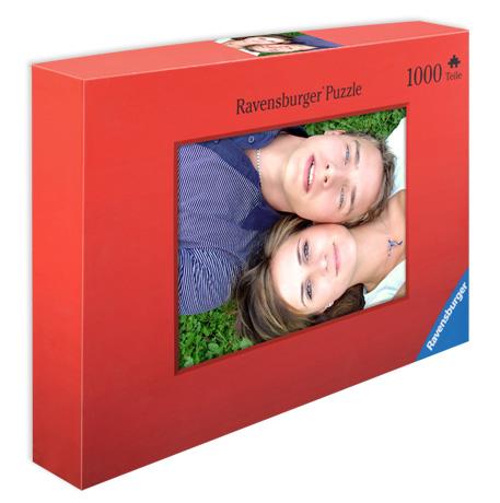 Fotopuslespil med 500 eller 1000 brikker - i gaveæske med dit foto