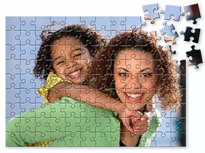 Puslespil med dit eget billede - fra 30 til 1000 brikker.