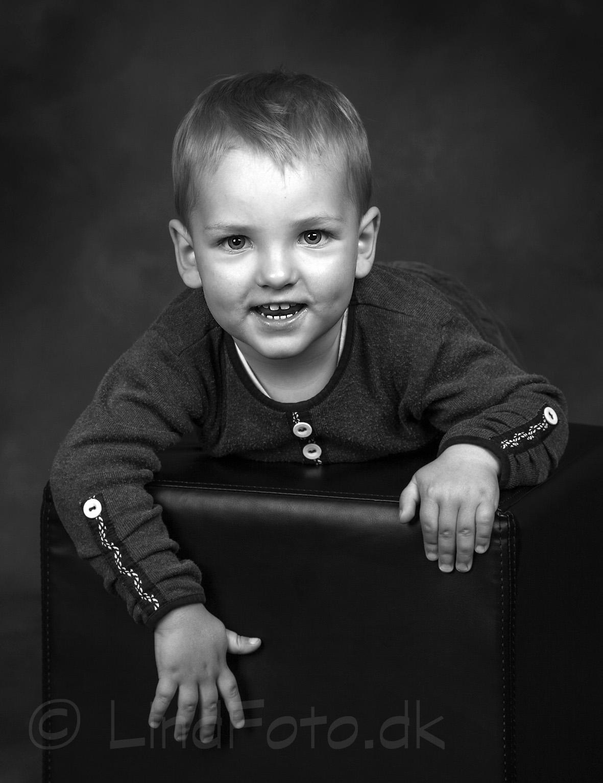 Børnefotografering - foto af dreng