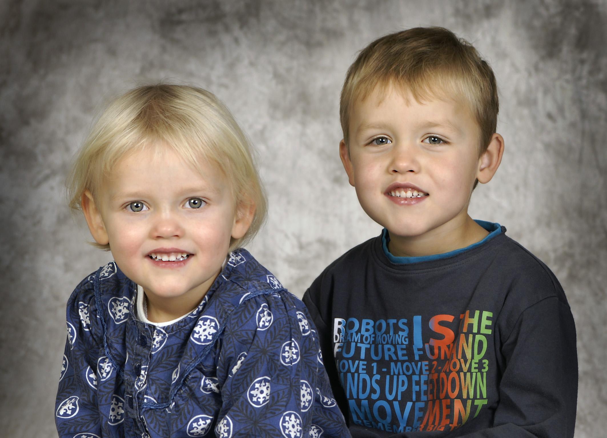 Fotografering af børn - 2 børn