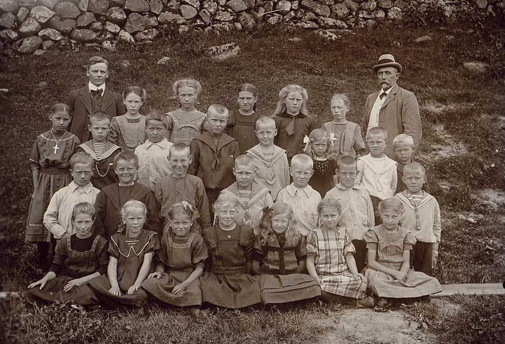 23. juni 1913 - klik på billedet for navne