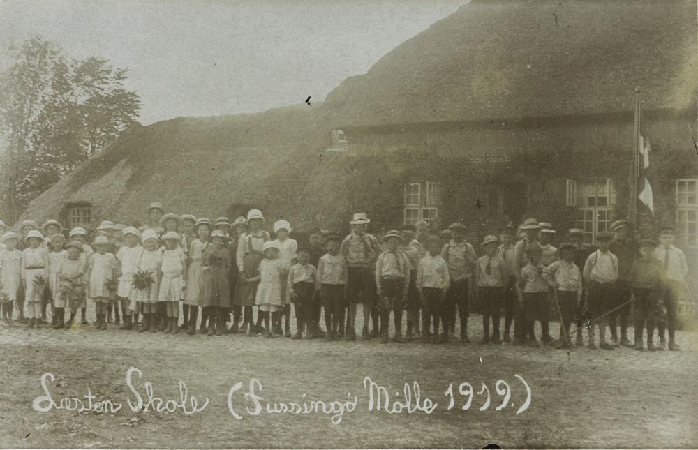 1919 - Ved Fussingø Mølle