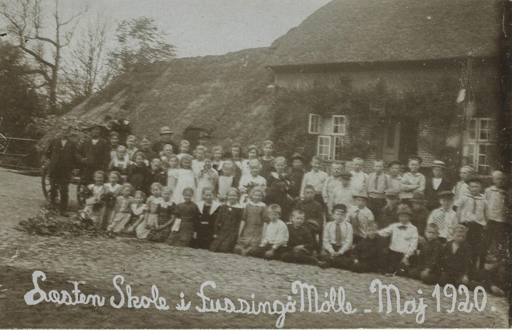 Maj 1920 - ved Fussingø Mølle