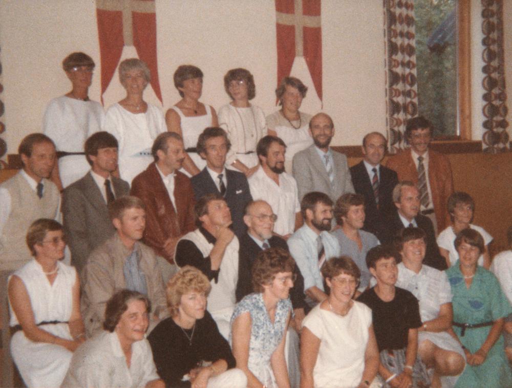 1984 - samme gruppe som ovenfor