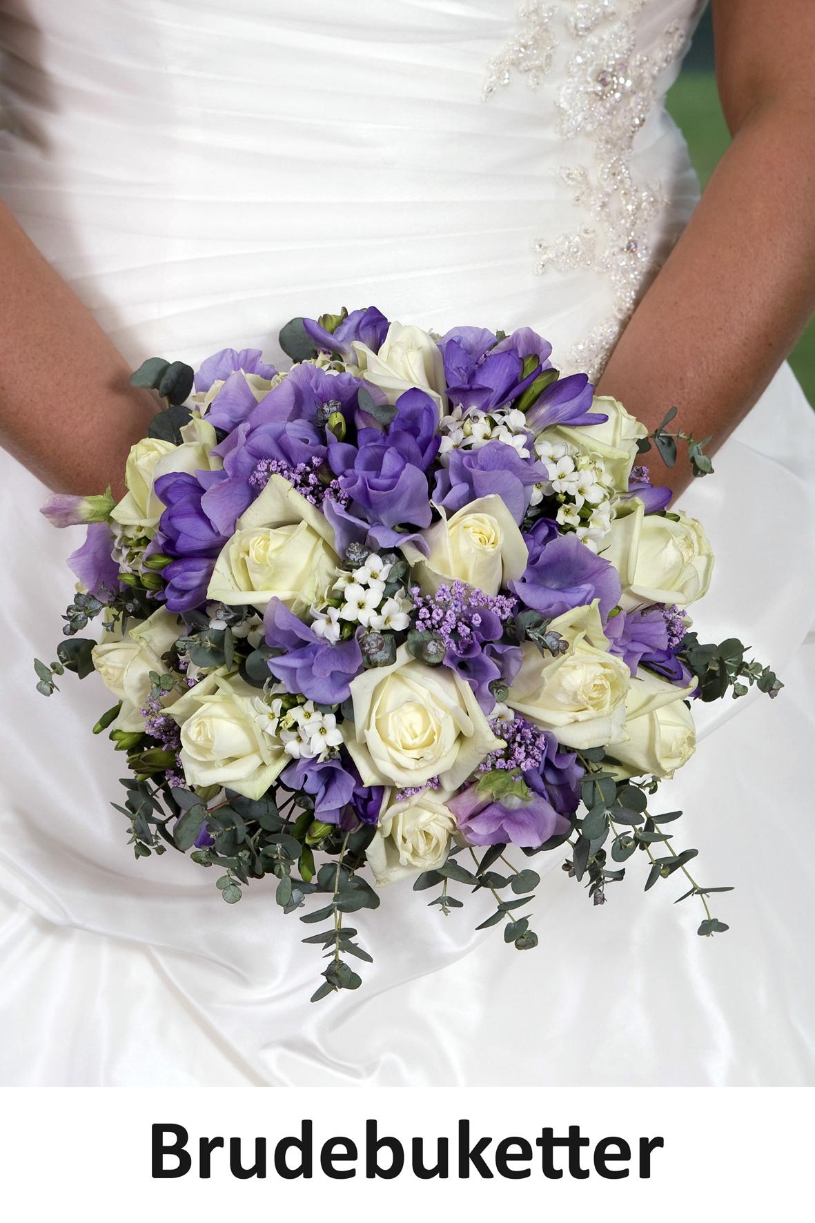 LindFoto.dk Randers - billeder af brudebuketter - bryllupsfoto