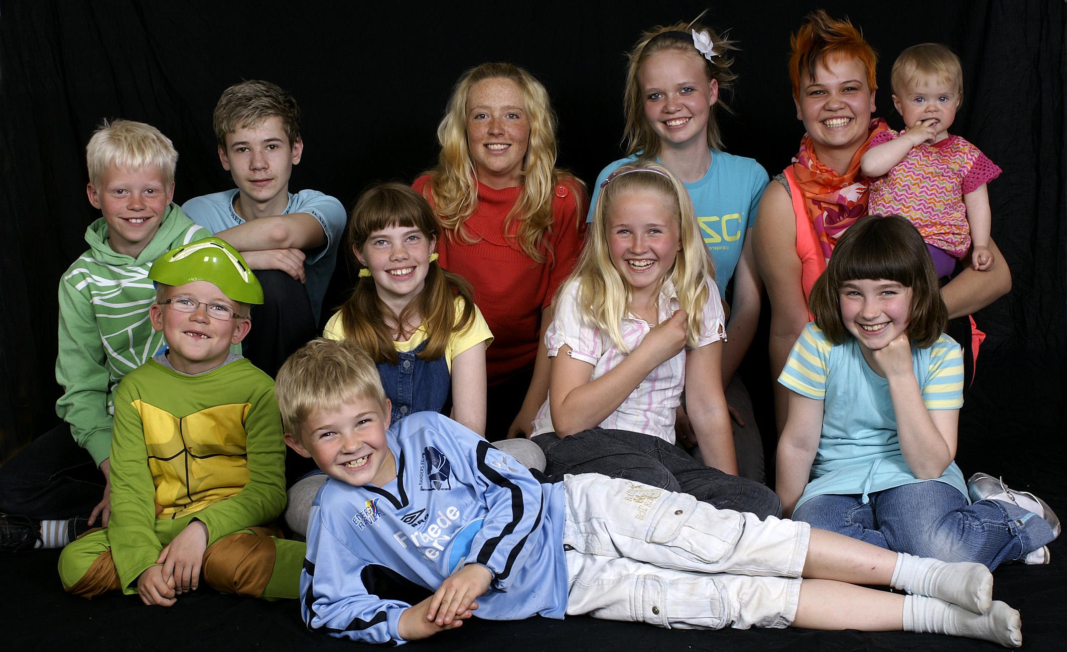 Børnefotograf - børnegruppe