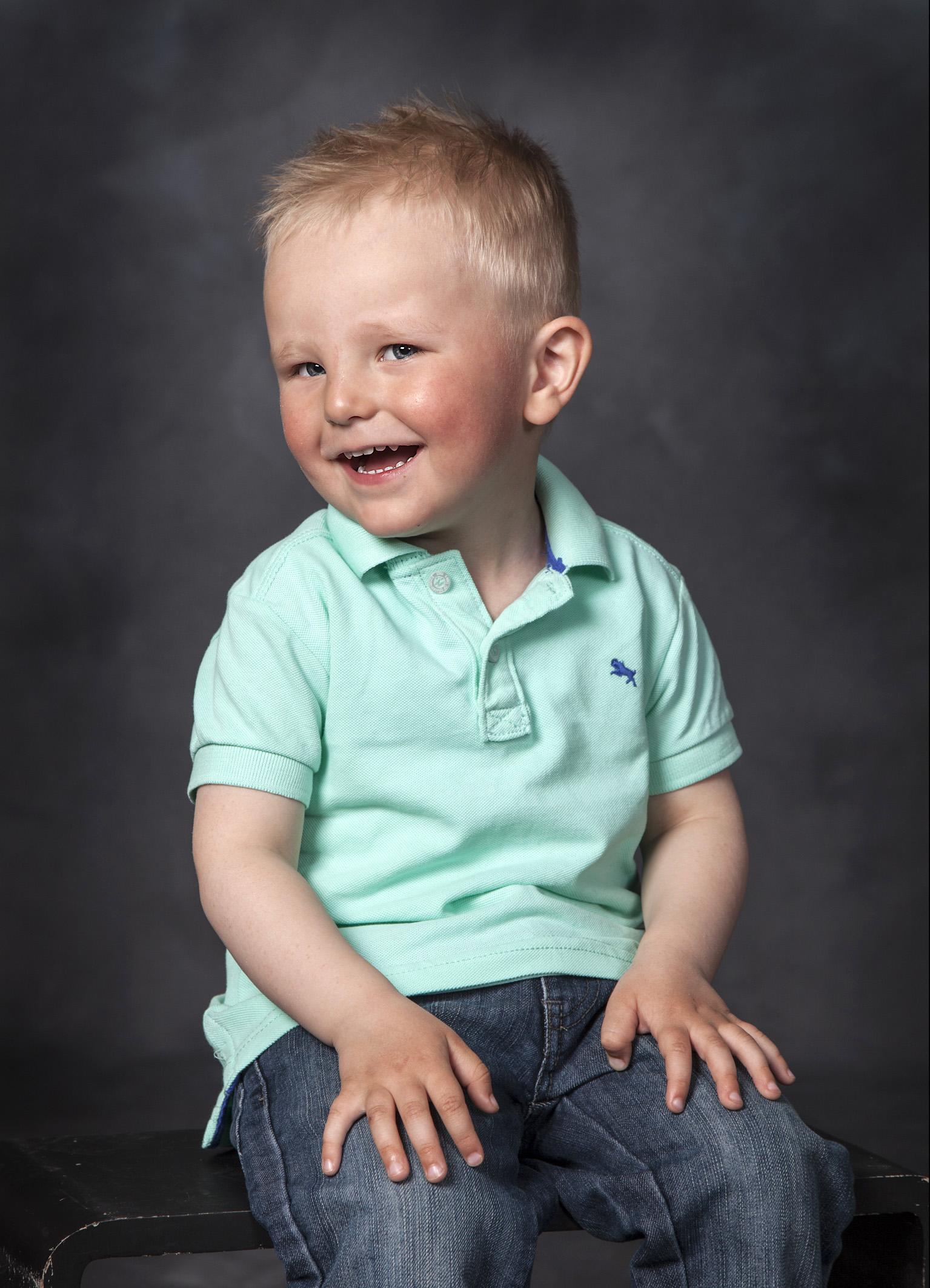 Børnefoto - foto af dreng